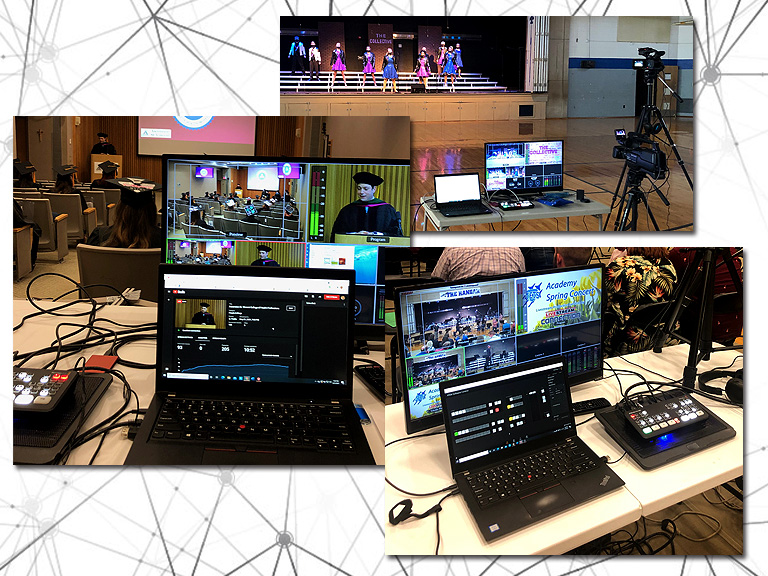 montage of video production services
