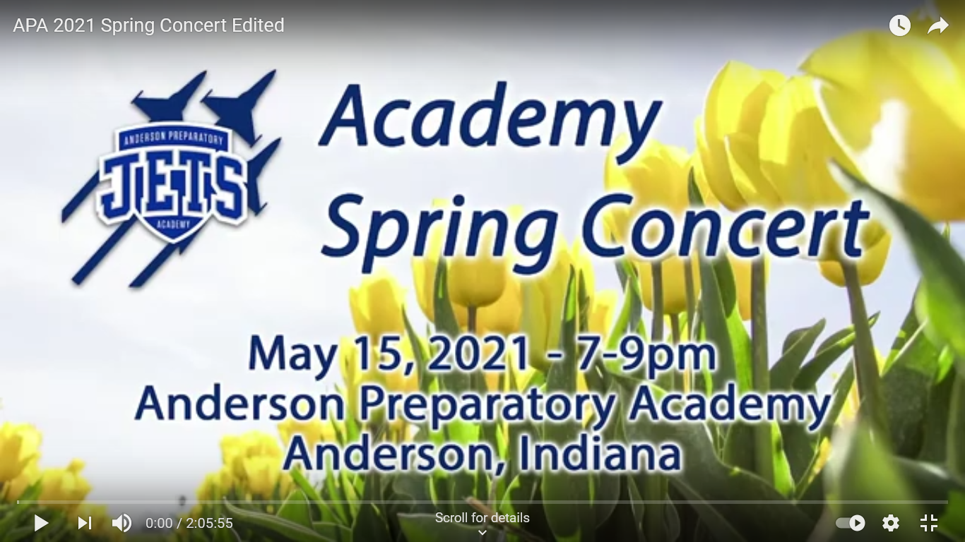 live stream video of spring concert Indianapolis